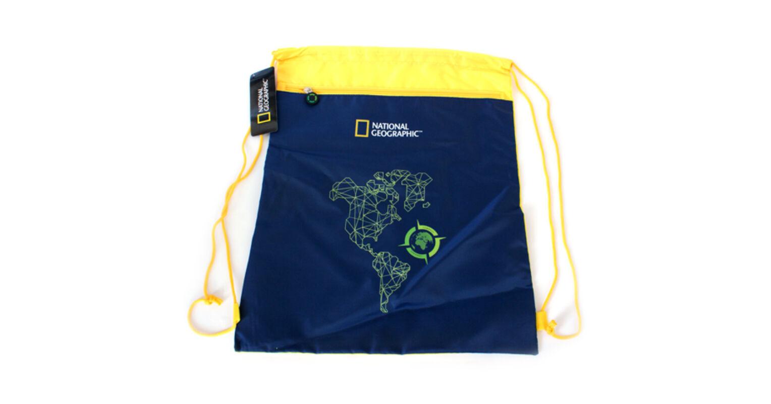 ac2bd2a82239 National Geographic kék-sárga tornazsák, sportzsák 1.998 Ft-os áron!
