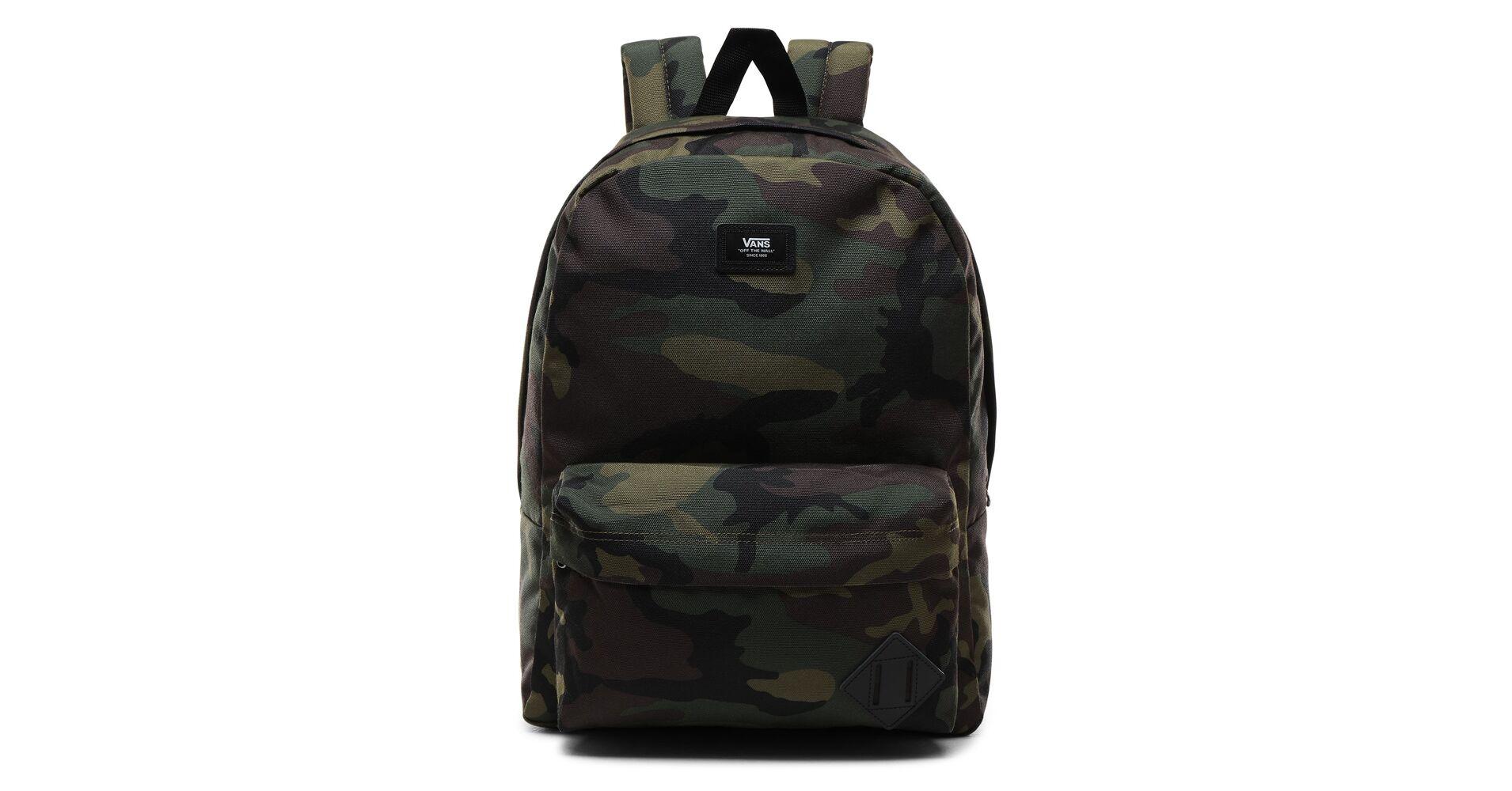 Vans Old Skool III terepmintás hátizsák 42 × 30 cm