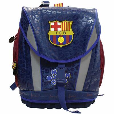 Barcelona kék színű ergonomikus iskolatáska, hátizsák