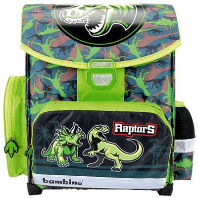 Dinoszauruszos prémium ergonomikus iskolatáska, hátizsák