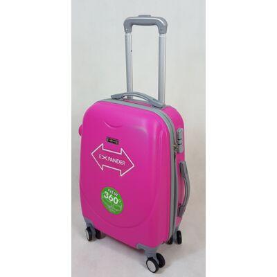 Rhino expander pink keményfalú, Wizzair, Ryanair kabin bőrönd