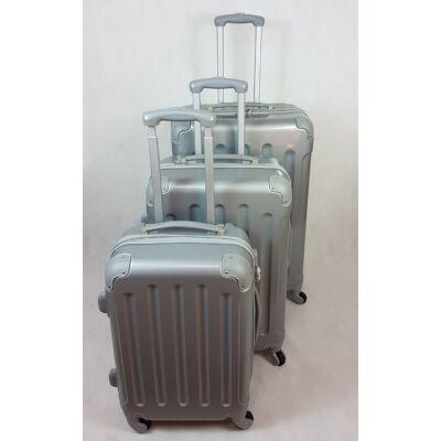 Rhino elegant silver kemény falú, bőrönd szett
