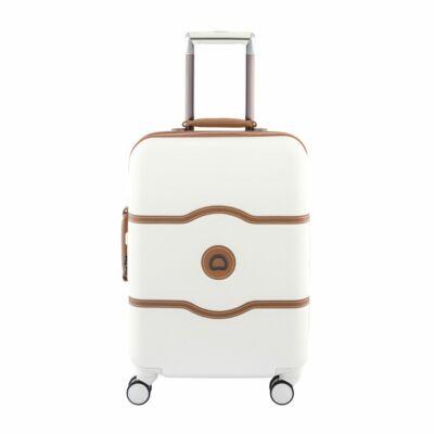 Delsey Chatelet slim kabin bőrönd, angóra