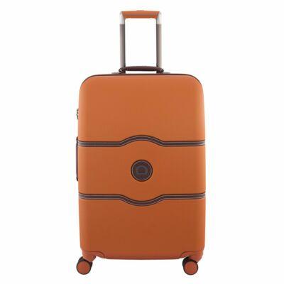 Delsey Chatelet kemény falú bőrönd 69 cm, orange