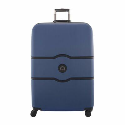 Delsey Chatelet kemény falú bőrönd 82 cm, kék