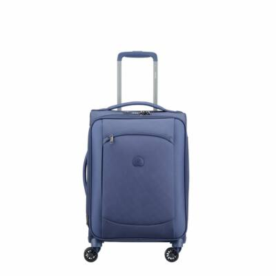 Delsey Montmartre Air, puha falú, kabin bőrönd, kék