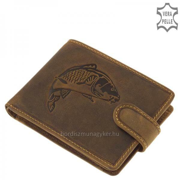 GreenDeed horgász pénztárca ponty mintával