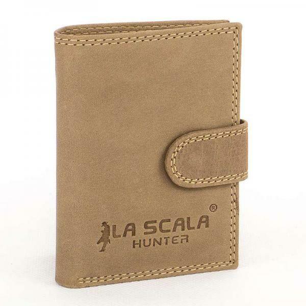 La Scala Hunter bőr kártyatartó