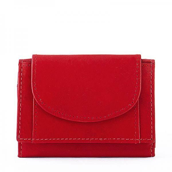 La Scala női bőr pénztárca piros