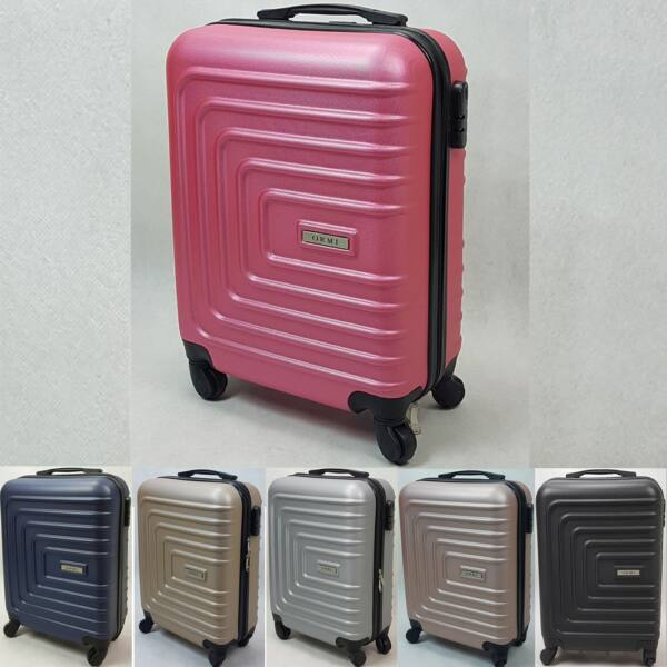 Ormi Flyshape kemény falú, Wizzair, Ryanair kabin bőrönd 52cm, több színben