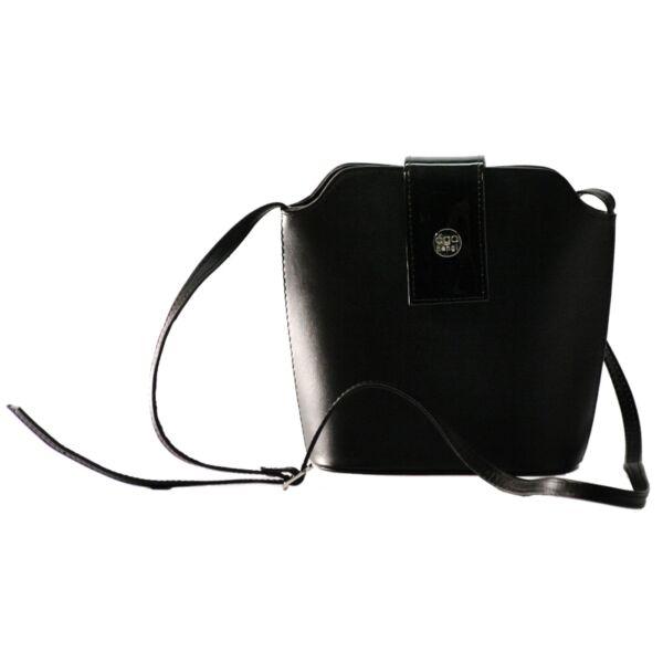 Ága Hengl Hanga női bőr táska 19 x 21 cm.