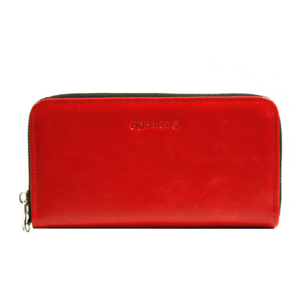 online eladás új dizájn legjobb szállító Ága Hengl Bianka dupla piros női bőr pénztárca 18.990 Ft-os áron!