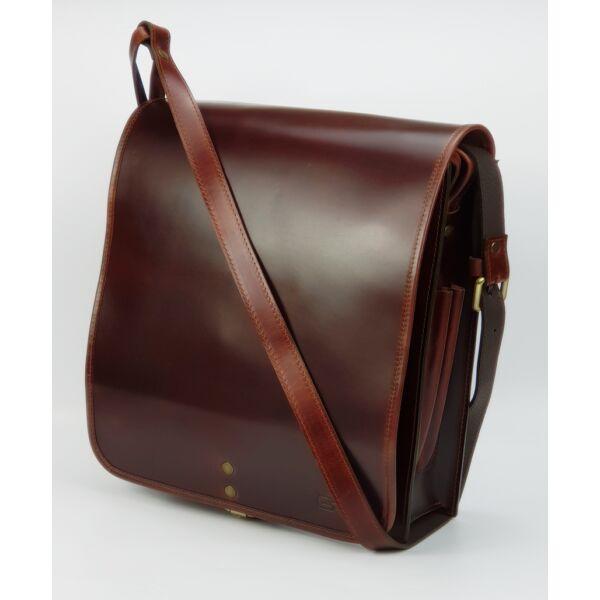Blazek&Anni Telefontartós bőr oldal táska 32x29.5 cm