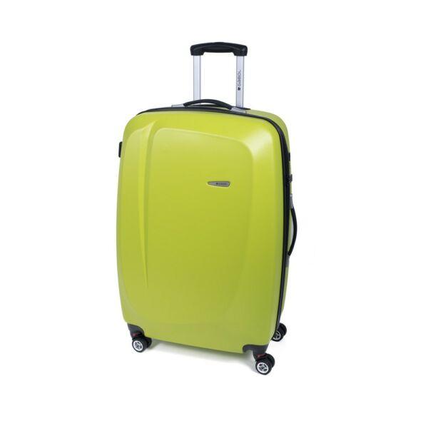 Gabol Line kemény falú bőrönd 68 cm, limezöld