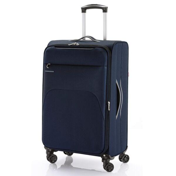 Gabol Zambia puhafalú, Wizzair, Ryanair kabinbőrönd 55 cm, sötétkék