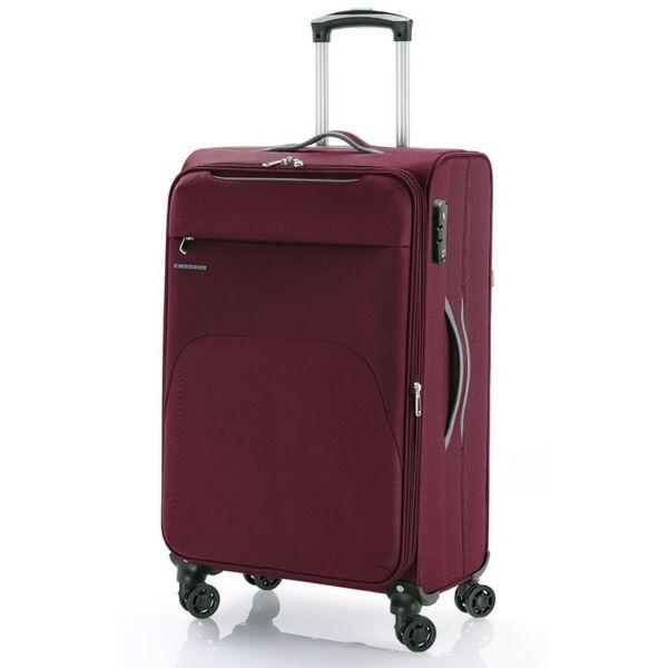 Gabol Zambia puhafalú, Wizzair, Ryanair bordó kabinbőrönd 55 cm