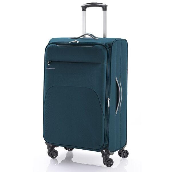 Gabol Zambia puhafalú, Wizzair, Ryanair kabinbőrönd 55 cm, petrolkék