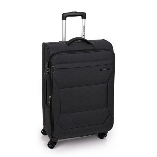 Gabol Board puhafalú bőrönd sötétszürke, 68 cm.