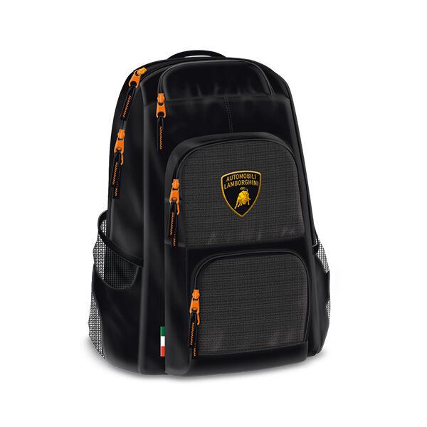 Lamborghini párnázott iskolatáska, hátizsák