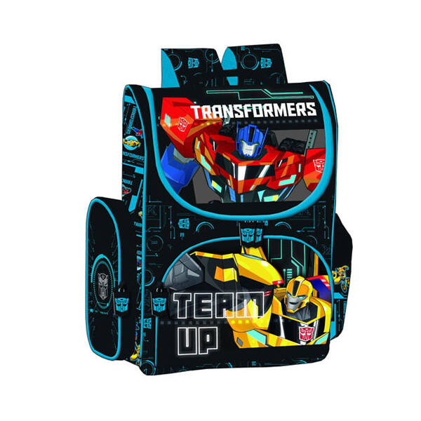 Transformers Team Up ergonomiai iskolatáska hátizsák