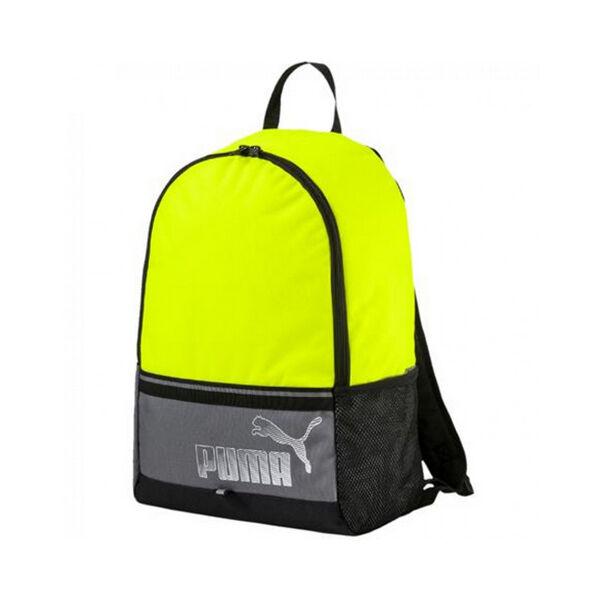 Puma citromsárga egyrekeszes sport hátizsák