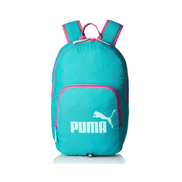 Puma türkizzöld-pink sport hátizsák