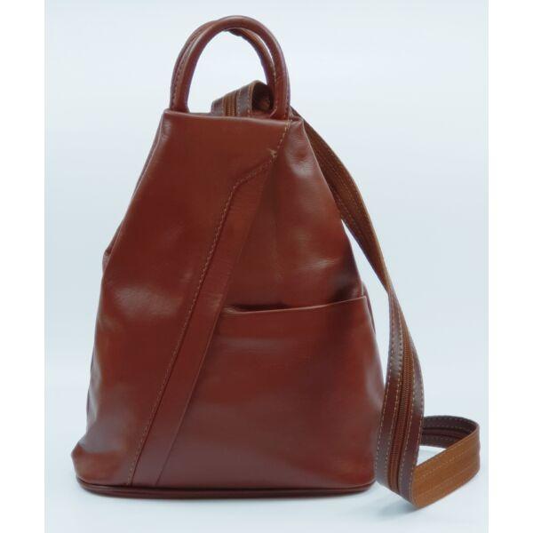 Maxmoda Koko barna női bőr hátizsák