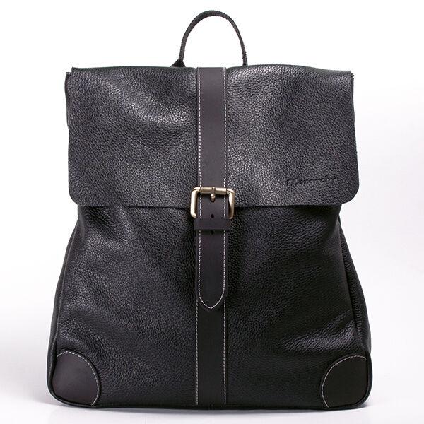 55d6f48d62 Ryan női fekete bőr hátizsák 26.990 Ft-os áron!