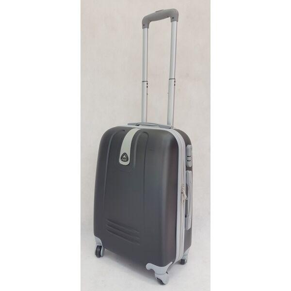 Ormi Hard fekete keményfalú, kabin bőrönd 57x40 cm.