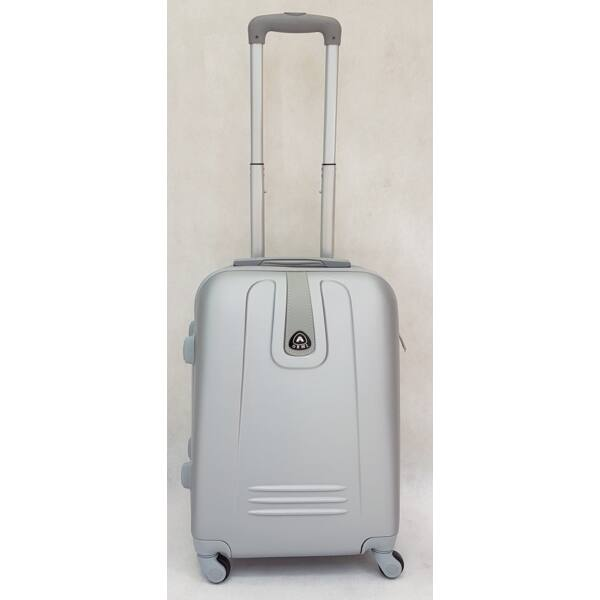 Ormi Hard ezüst keményfalú, kabin bőrönd 52x37 cm.