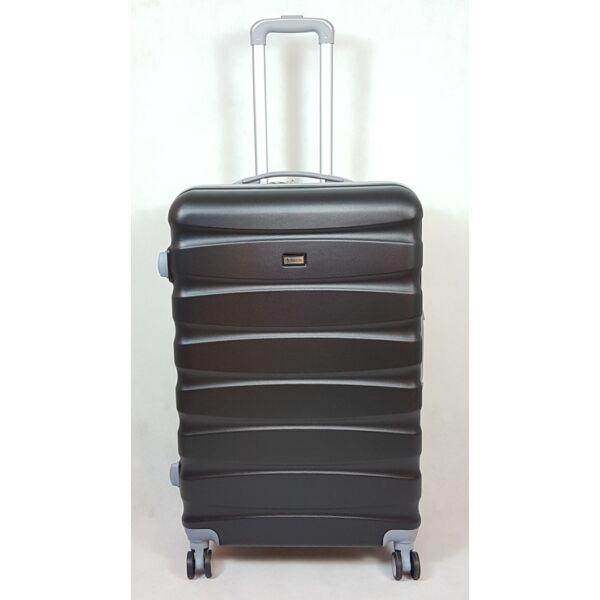 Ormi Carbon Dream fekete keményfalú, L bőrönd 67 cm