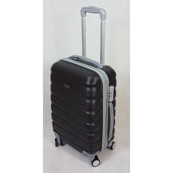 Ormi Carbon Dream fekete keményfalú, kabin bőrönd