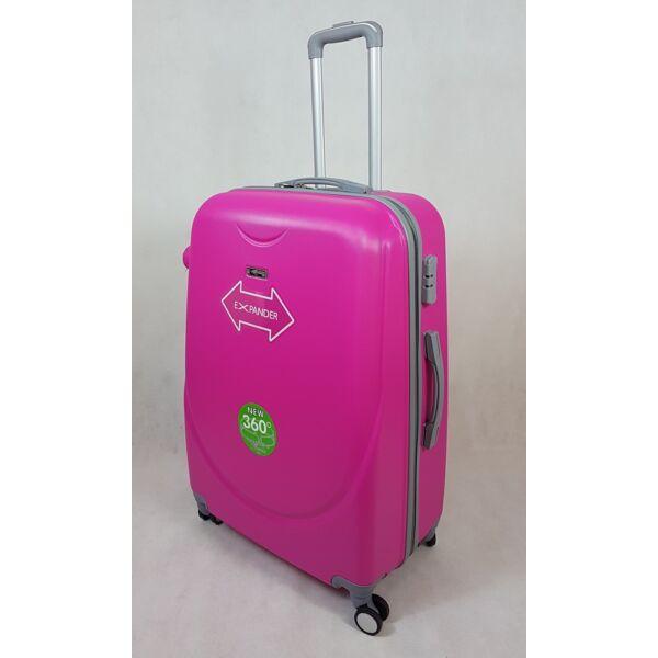Rhino expander pink keményfalú, L bőrönd 67 cm