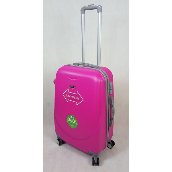 Rhino expander pink keményfalú, bőrönd 60 cm