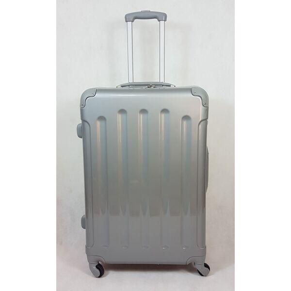 Rhino elegant silver keményfalú, L bőrönd 67 cm
