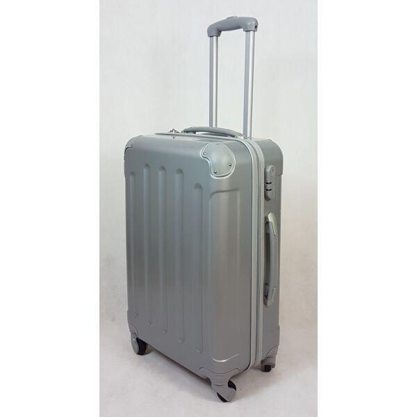 Rhino elegant silver keményfalú, bőrönd 60 cm