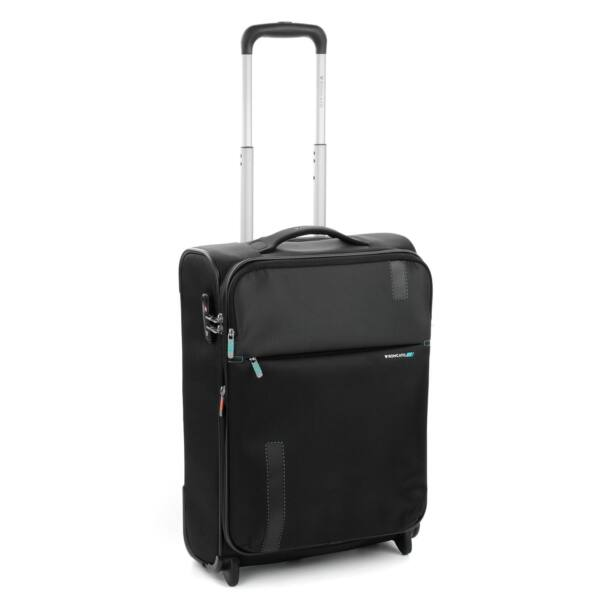 Roncato Speed puhafalú, 2 kerekes bővíthető kabinbőrönd 55 cm, fekete