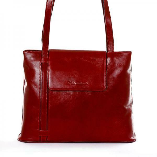Sylvia Belmonte piros női táska