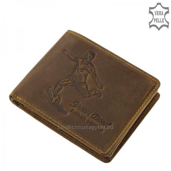 GreenDeed pénztárca focis mintával