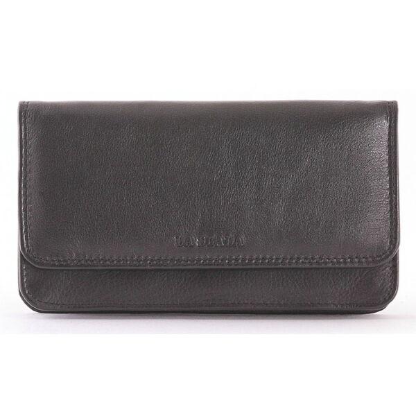 Női bőr pénztárca- 9 db-os kártyatartóval
