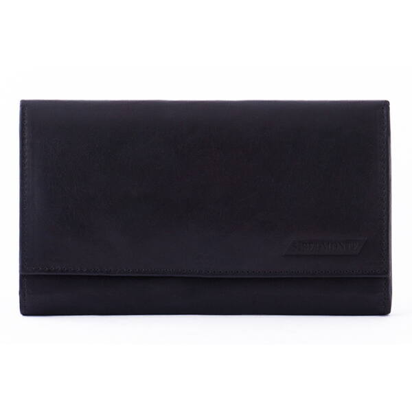 Női bőr pénztárca kártya- és irattartókkal