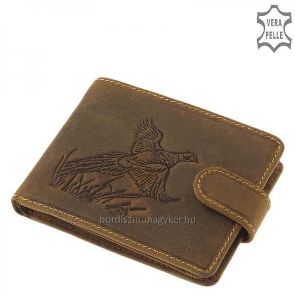 GreenDeed vadász pénztárca fácán mintával