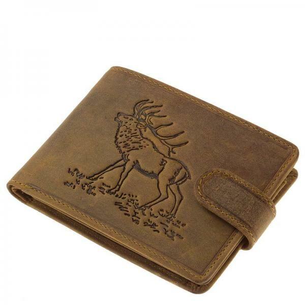 GreenDeed vadász férfi pénztárca szarvasmintával