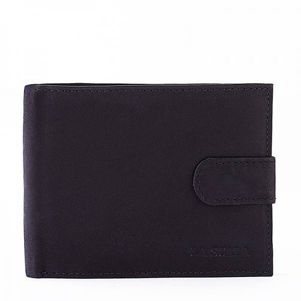 La Scala férfi pénztárca sötét barna