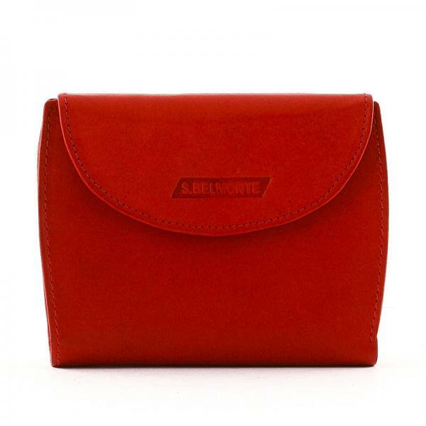 S. Belmonte női pénztárca piros