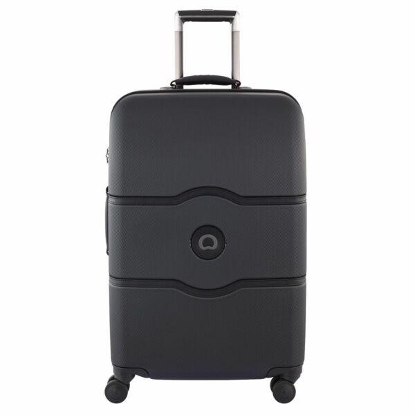 Delsey Chatelet kemény falú bőrönd 69 cm, fekete