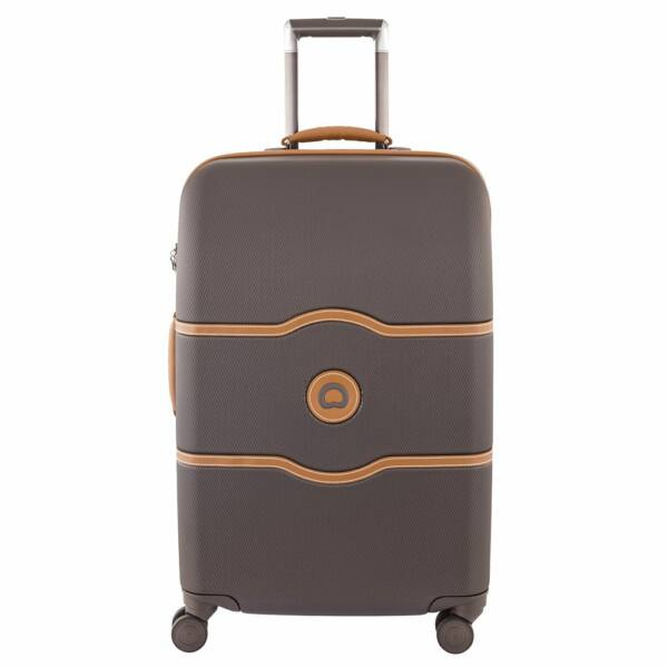Delsey Chatelet kemény falú bőrönd 69 cm, barna