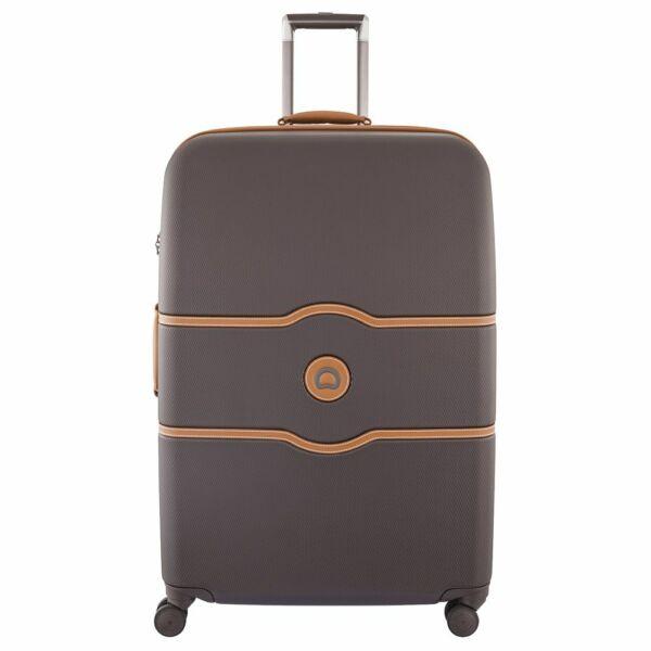 Delsey Chatelet kemény falú bőrönd 82 cm, barna