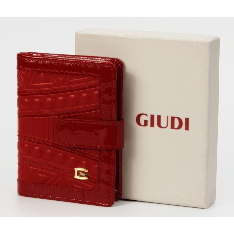 Giudi absztrakt mintás piros bőr női kártyatartó 8.990 Ft-os áron! ee1eb56afe