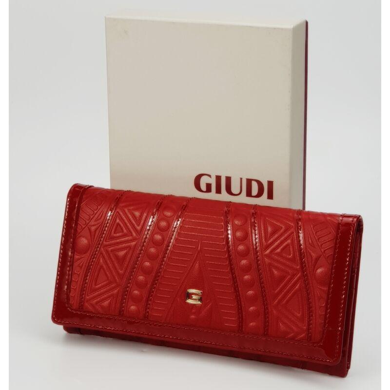 Giudi absztrakt mintás piros bőr női pénztárca 17.990 Ft-os áron! 137fdfefe2